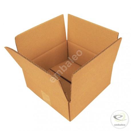 2-Wellige Schachtel 25x25x10 cm