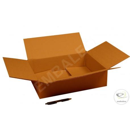 2-Wellige Schachtel 40x30x10 cm