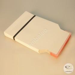 Weißer Kartonumschlag CD 16 x 17,5 cm