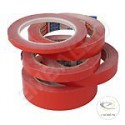 Klebeband Rote Farbe aus PVC 19/66ml