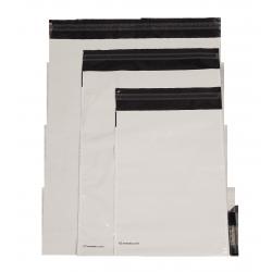 Undurchsichtige Kunststoffbeutel mit KlotzbodenEmbaleo Nr. 1 27,5 x 35 cm 60µ