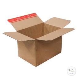 verstellbare Schachtel 30,4 x 21,6 cm mit Klebeband