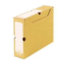 Orangefarben Archivbox 32,2 x 9,5 x 24,9 cm