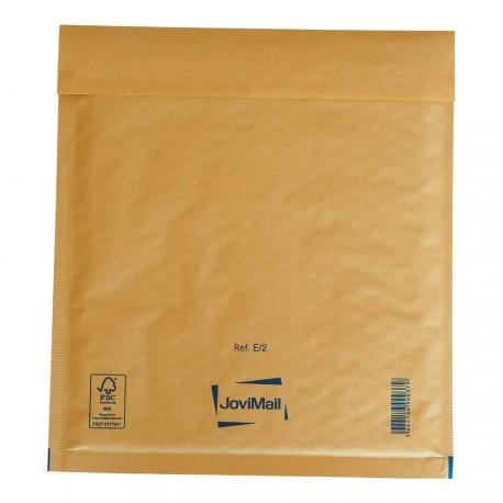 Enveloppe bulle marron E Mail Lite Gold 22x26cm