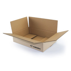 Kartonkasten für Versandverkauf 39,5 x 27,5 x 9,5 cm