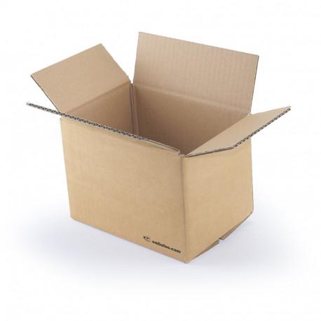 Carton simple cannelure 20x14x14 cm