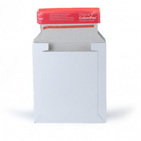 Enveloppe carton blanche CD 16 x 17,5 cm