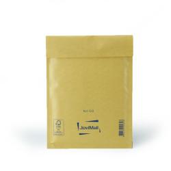 Brauner Luftpolsterumschlag C Mail Lite Gold 15x21cm