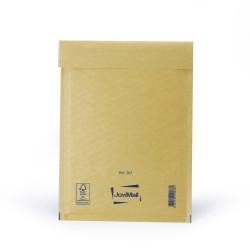 Brauner Luftpolsterumschlag D Mail Lite Gold 18x26cm