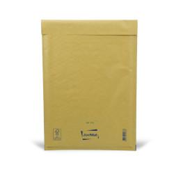 Brauner Luftpolsterumschlag F Mail Lite Gold 22x33cm