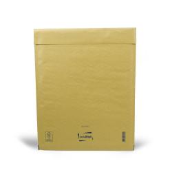 Brauner Luftpolsterumschlag H Mail Lite Gold 27x36cm