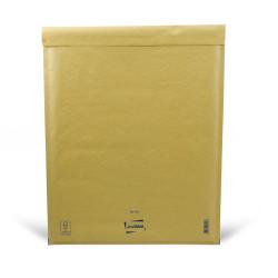 Brauner Luftpolsterumschlag K Mail Lite Gold 35x47cm